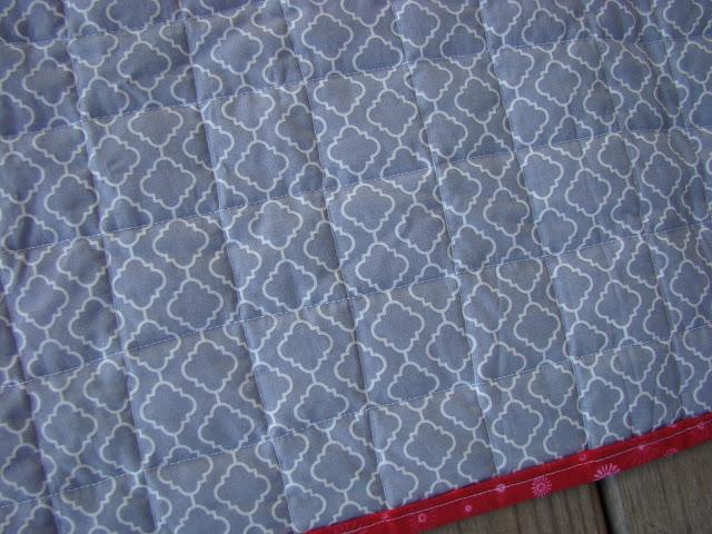Moda Reunion quilt as you go quilt