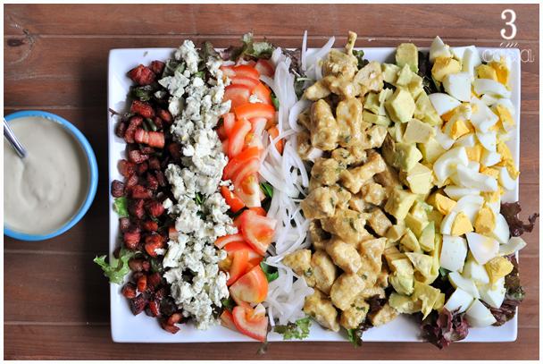 salada cobb receita