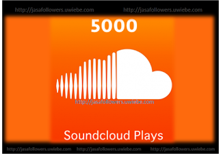 Paket 5000 Soundcloud Plays