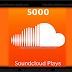 Paket 5000 Soundcloud Plays