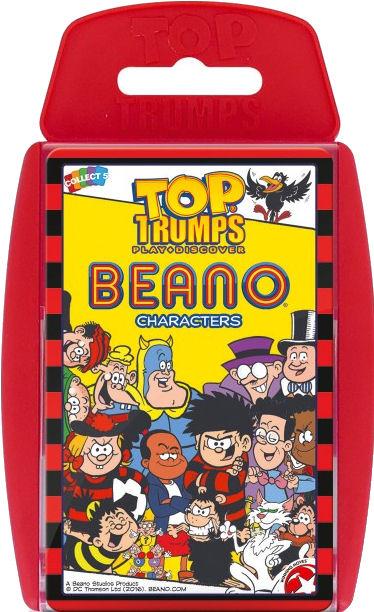 Free 1st class p/&p The Beano Top Trumps