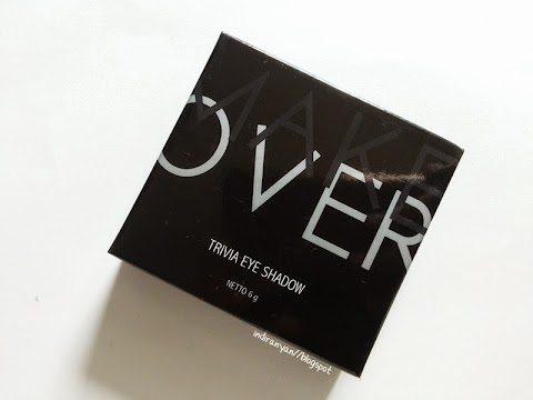 [REVIEW] MakeOver : Trivia Eyeshadow - Enchanting Nude Spell*