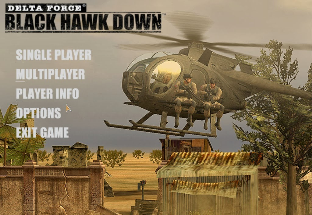 Delta Force Black Hawk Down PC Game