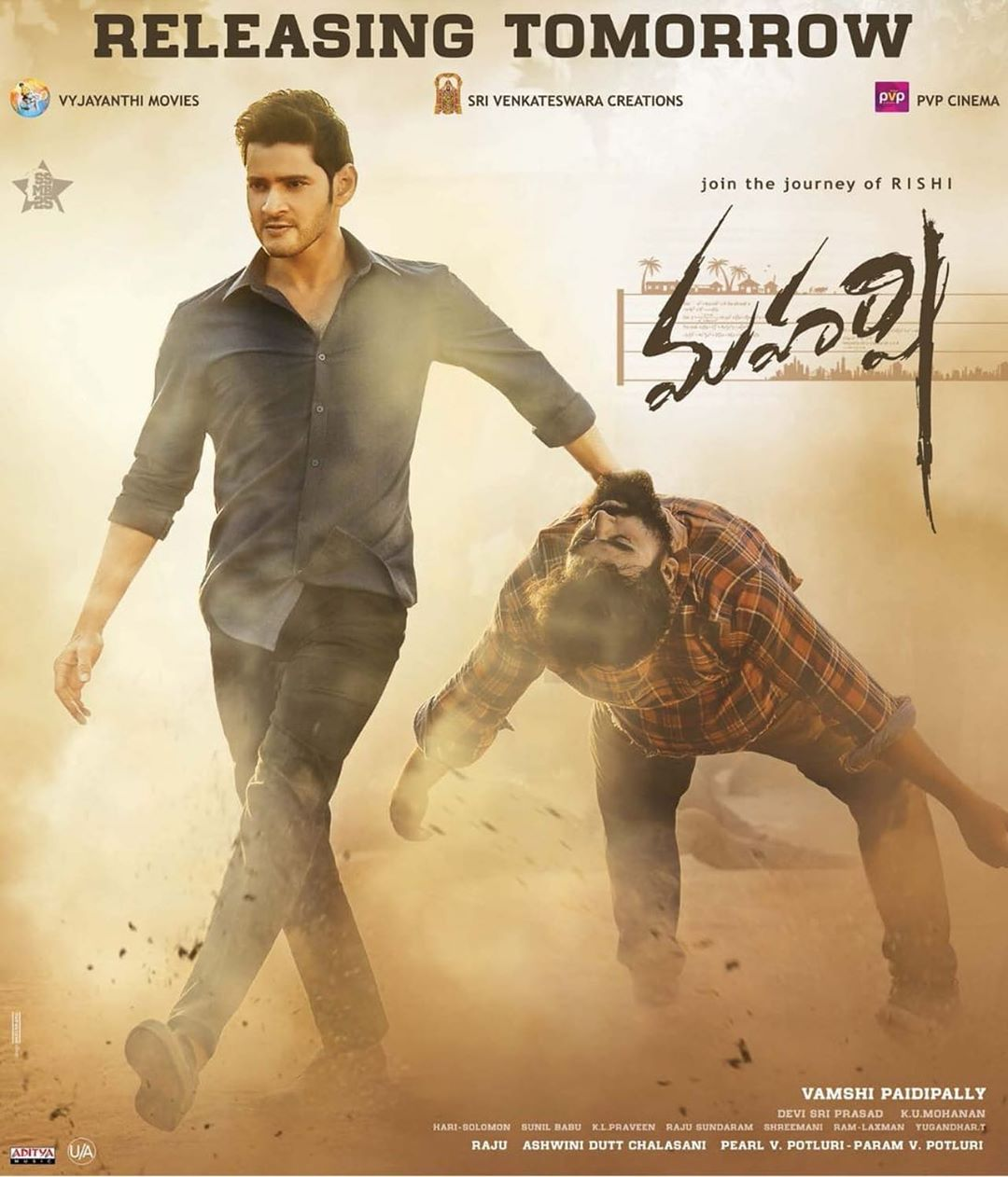 Maharshi 2020 full hd Hindi Dubbed 900MB HDRip 720p