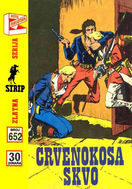 Crvenokosa Skvo - Komandant Mark