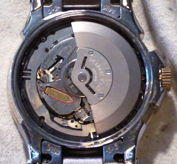 Seiko Kinetic Watch Batteries
