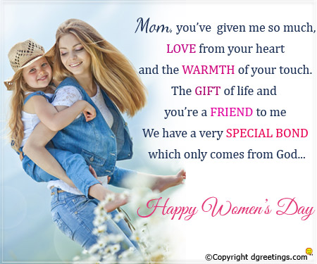 Love Text Messages Quotes Poems And Sms 9 Womens Day Message
