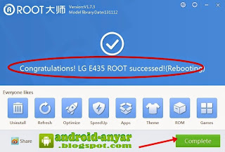 LG L3 E435 Native Root 100%