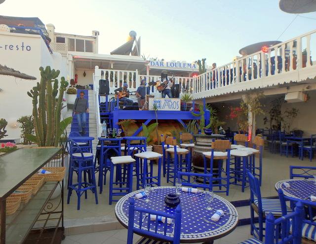 Taros café and restaurant Essaouira, Morocco