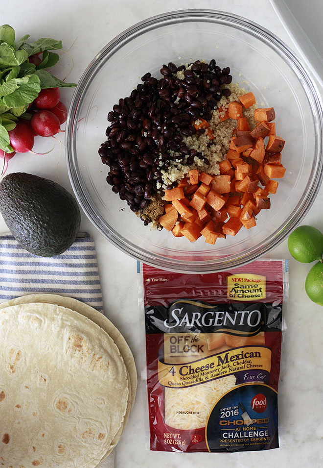 Quinoa, Black Bean and Sweet Potato Enchiladas Recipe