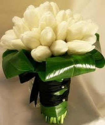 Ramo de novia con tulipanes