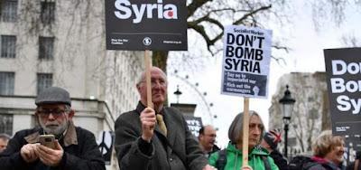 مظاهرة فى لندن