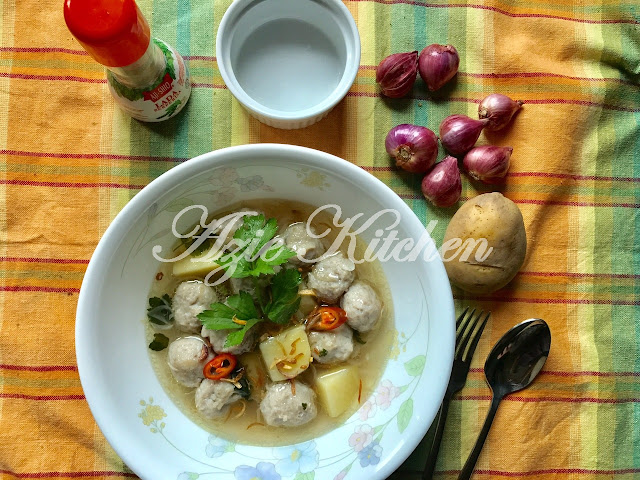 Sup Bebola Ikan Azie Kitchen Yang Sangat Sedap