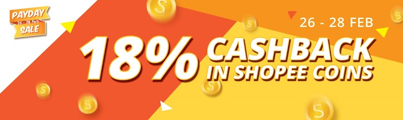 Shopee Campaign. Payday Sale 26-28 February 2018
