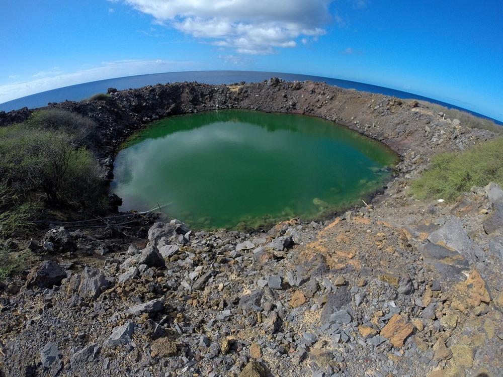 """Sailor's Hat"" crater"