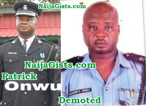 dpo patrick onwu demoted