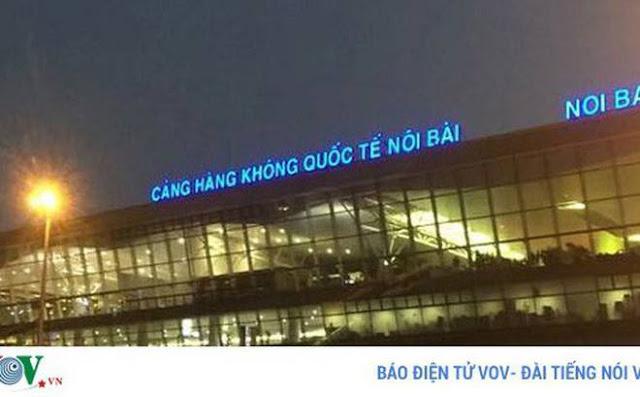 Bên trong sân bay quốc tế Nội Bài