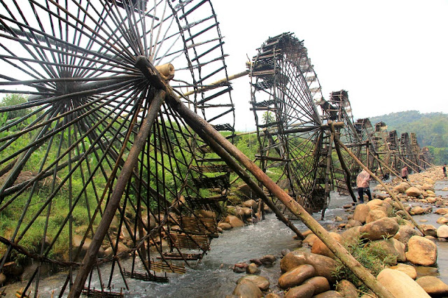 Stunning beauty of bamboo water wheels in Lai Chau 1