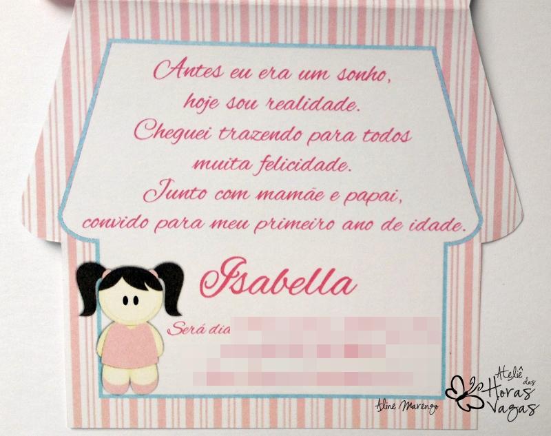 convite artesanal aniversário infantil chá de bebê casa casinha de boneca chá de bonecas jardim provençal floral azul e rosa menina