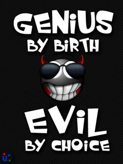 genius by birth whatsapp dp and profile pic