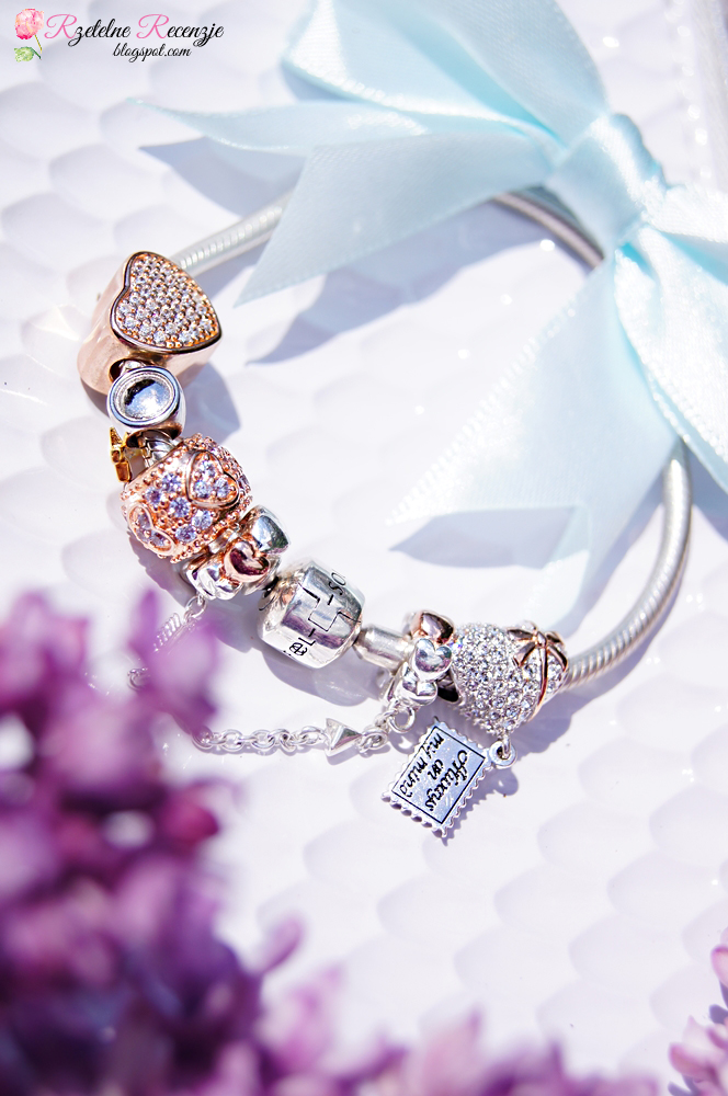 soufeel bracelet, silver bracelet, stearing silver, charms, rose gold