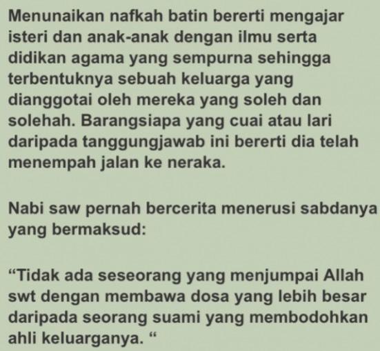 Tuduh Hafiz Hamidun Tak Dapat Beri Nafkah Batin, Ini Maksud Sebenar Joy Revfa