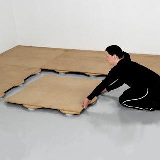Greatmats Sprung Dance Subfloor floor