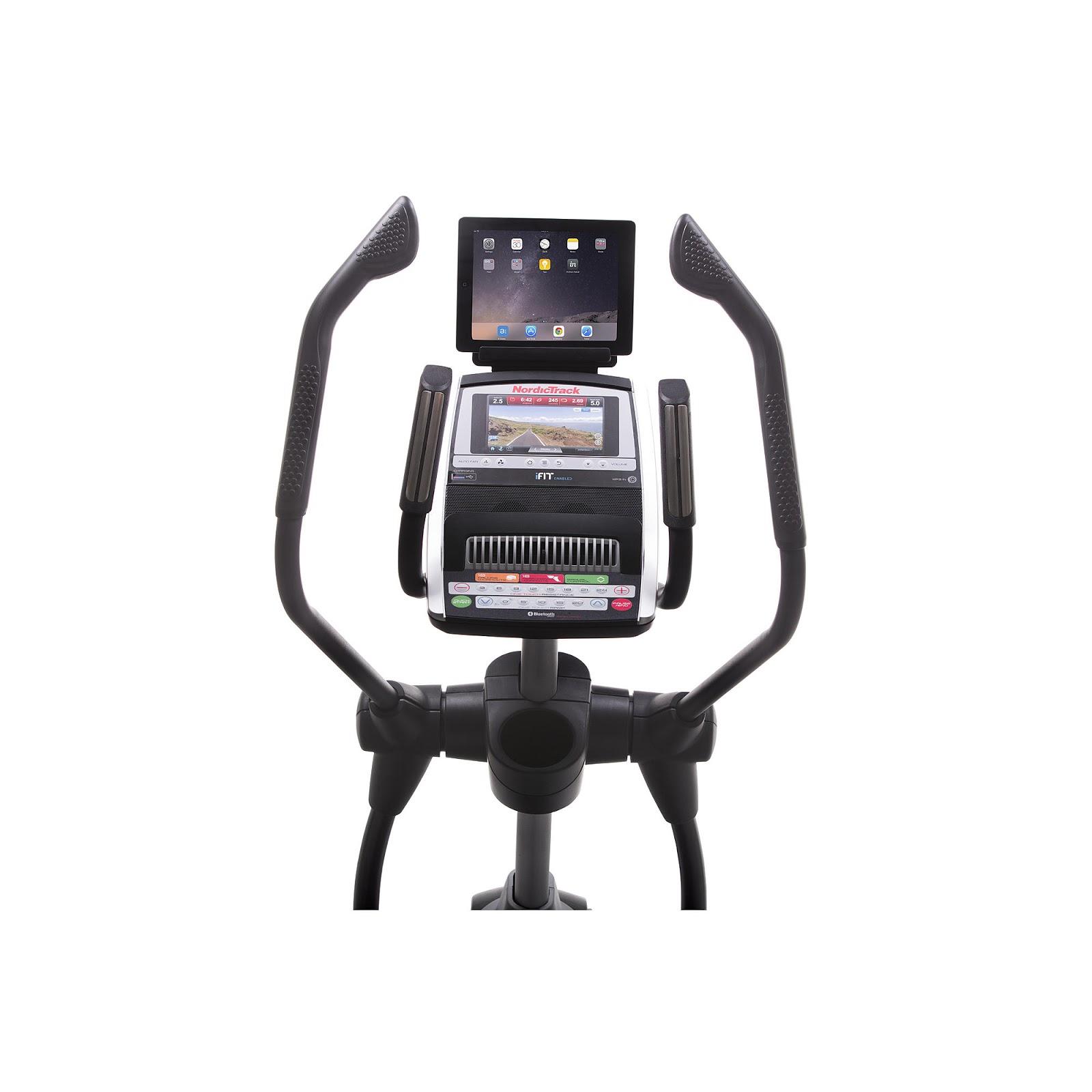 Health And Fitness Den: NordicTrack Elite 10.9 Elliptical