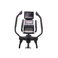 "7"" Smart HD touch-screen console, Wi-Fi & iFit, 32 programs, cooling fan, sound system, on NordicTrack Elite 10.9 Elliptical"