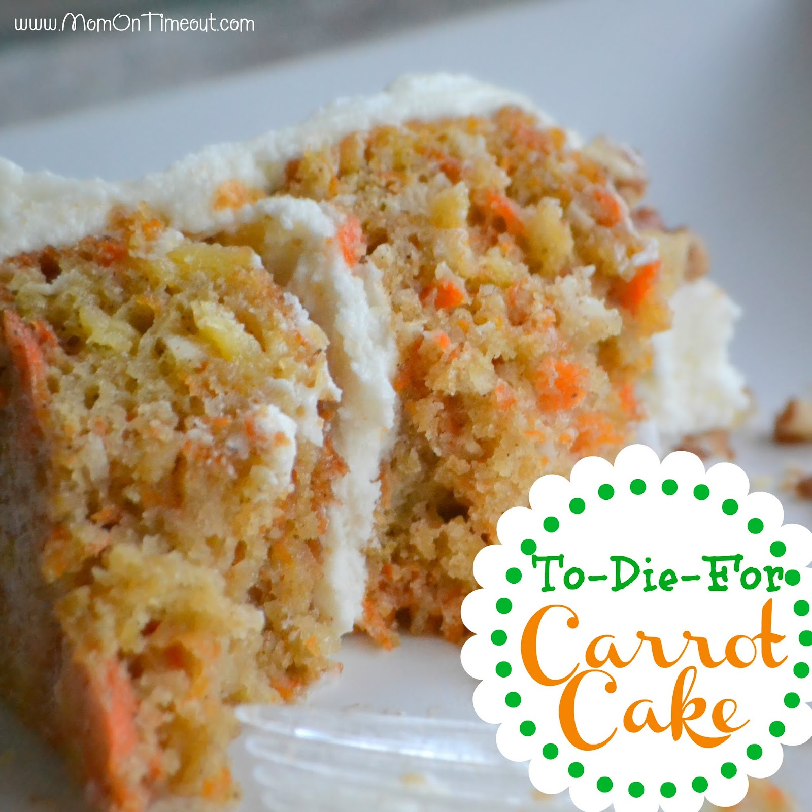 Keep Your Fork Good Things are Coming: Carrot Cake