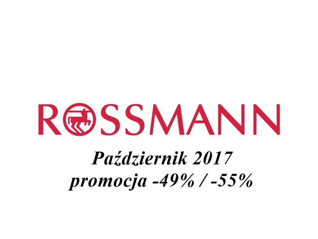 Rossmann promocja -49%/-55% październik 2017 | Co kupić?