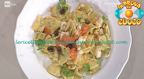 Maltagliati con rana pescatrice ricetta Scarpa e Zoppolatti da Prova del Cuoco
