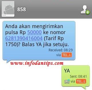 kirim-bagi-transfer-pulsa-telkomsel-dengan-sms