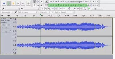 sofware edit suara ringan terbaik