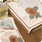 Carpeta para sobres y papel de cartas + Joyero a Crochet