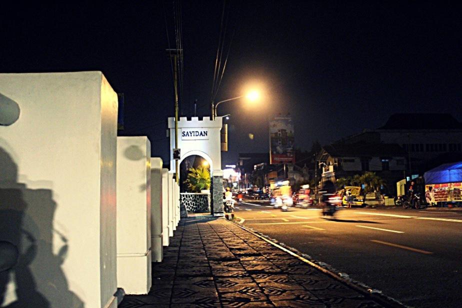 Jembatan Syaidan - Destinasi Wisata Malam Yogyakarta