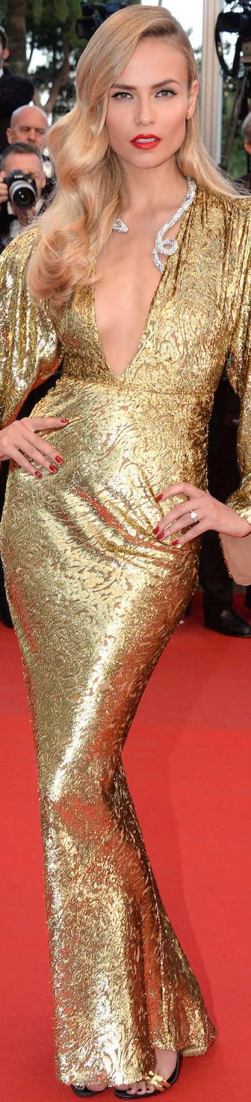 Natasha Poly 2015 Cannes Flim Festival