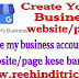 Google my business website/page create kese kare