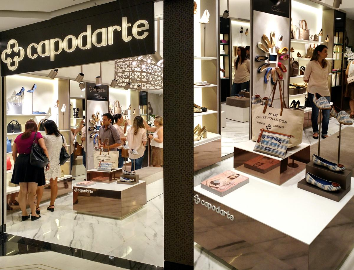 9bccbb4639 Inaugurou hoje (27) a primeira loja da Capodarte com o novo conceito  desenvolvido pelo escritório da FAL Arquitetura, no Shopping Pátio Paulista  (SP).