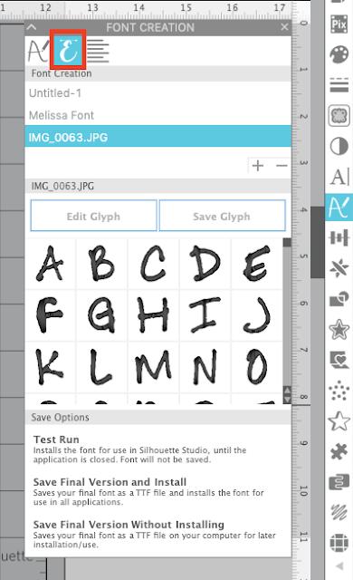 font creator, studio v4.2, silhouette fonts, silhouette font creator, silhouette tutorial