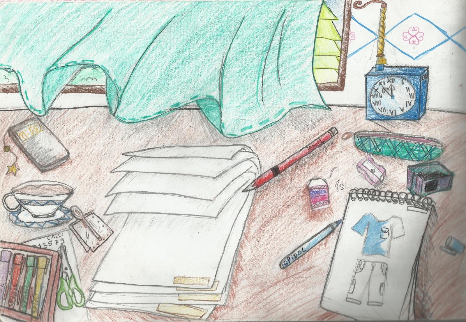 Class of Imagination: Hasil Karya Seni Rupa Kelas VII SMP ...
