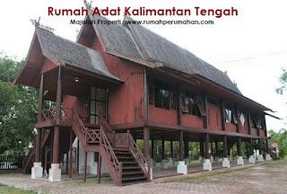 Desain Bentuk Rumah Adat Kalimantan Tengah dan Penjelasannya, Rumah Adat Bentang