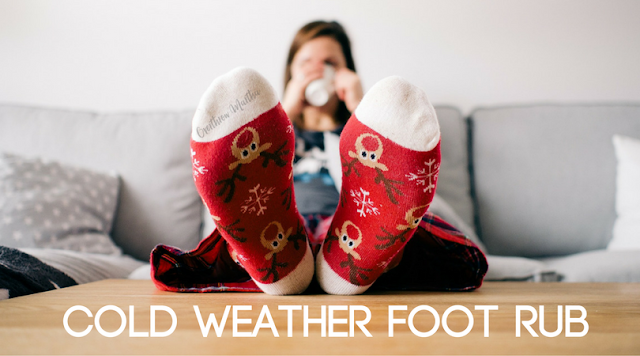 Cold Weather Essential Oil Foot Rub