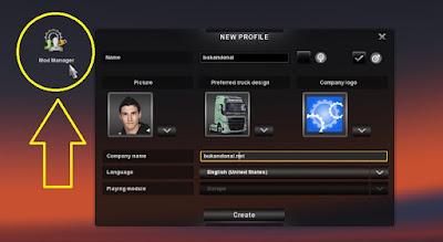 Memilih Mod Manager