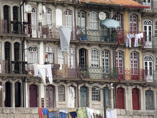 Le case della Ribeira-Porto