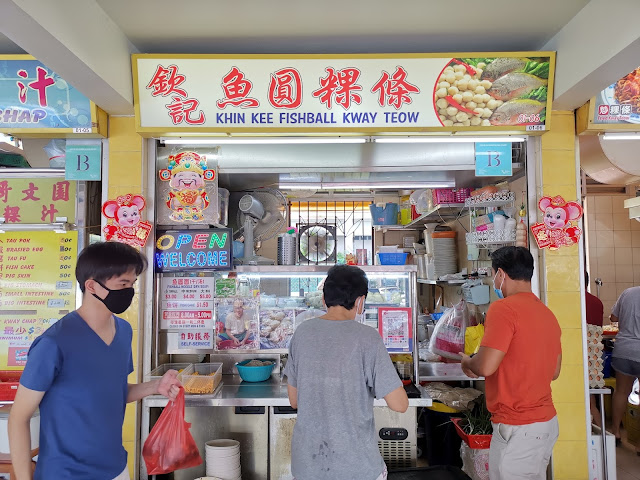 havelock road khin kee fishball kway teow legend from