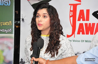 Mannara Chopra at Jai Jawan Event