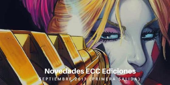 ECC Ediciones: Novedades de Septiembre de 2017 (Primera Salida)