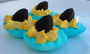 deviled eggs for shark week!