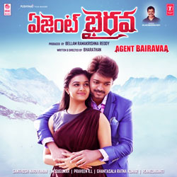 Agent Bairavaa (2017) Telugu Movie Audio CD Front Covers, Posters, Pictures, Pics, Images, Photos, Wallpapers